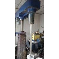 出售5立升带吸料气泵砂磨机,立式变频调速分散机