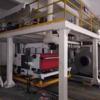 熔喷布挤出机。熔喷设备。熔喷布机器。喷生产线。
