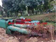 约10吨废旧钢坝 油压